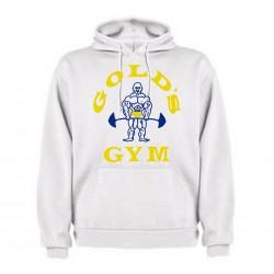 Sudadera Azul  Gold`s Gym capucha