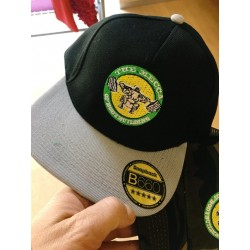 Gorra World Gym Militar.