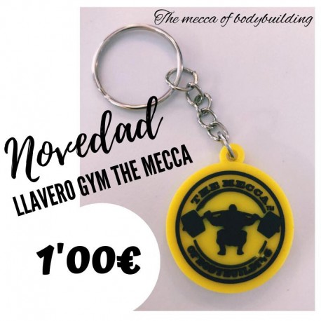 Llavero Exclusivo The Mecca Of Bodybuilding.