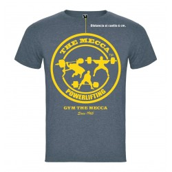 Camiseta The  Mecca  1965  Gris.