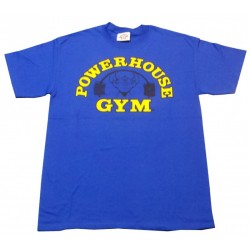 Powerhouse Gym camiseta Azul.
