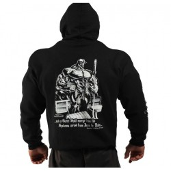 BLACK BOOK OF PAIN HOODIE.
