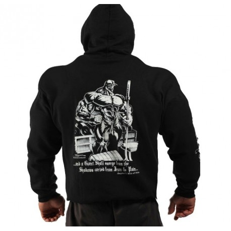 Sudadera Gorro Gigante de hierro Negra. - SportGim aeac0260957f4