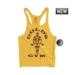 Camiseta Gold's Gym Tirantes Roja.