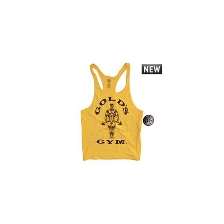 Camiseta Gold's Gym Tirantes Roja.