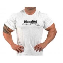 Camiseta corta Dianabol Gris.