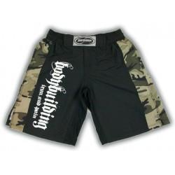 Pantalon Corto Bodybuilding Gris.
