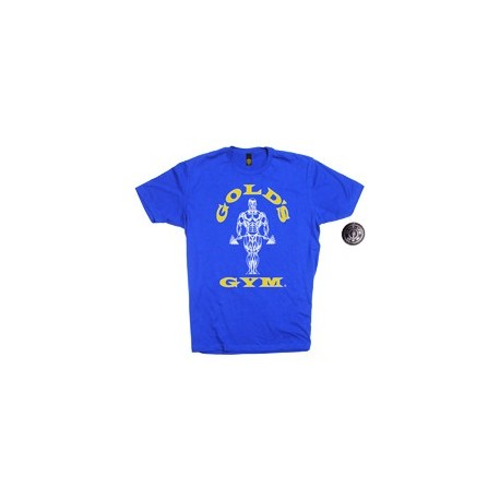 Camiseta Gold's Gym Azul.