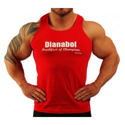 Camiseta Tirantes  Dianabol Negra.