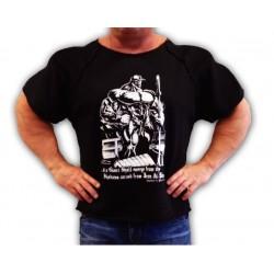 Camiseta Saco  Hombre de Hierro Negra.