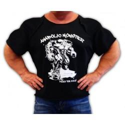 Camiseta Saco  Anabolic  Moster  Negra.