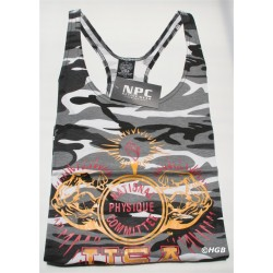 Camiseta Tirantes NPC Militar.