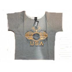 Camiseta Saco Npc Gris.