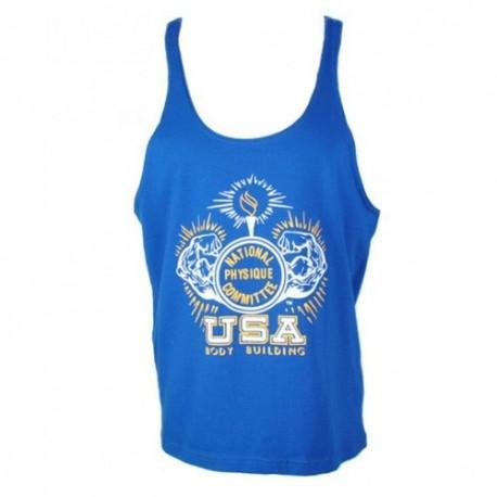 Camiseta Tirantes NPC Azul.