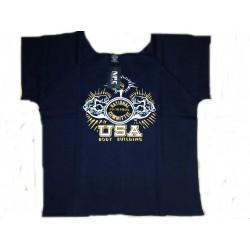 Camiseta Saco Npc Azul.