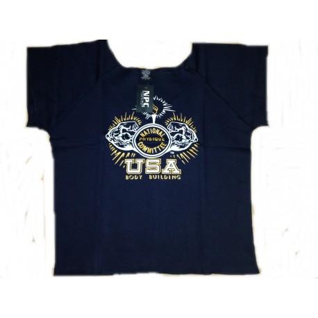 Camiseta Saco Npc Negra.