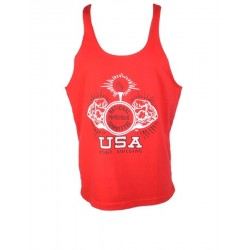 Camiseta Tirantes NPC Roja.