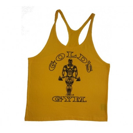 Camiseta God's Gym Tirantes Negra Usa.