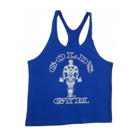 Camiseta God's Gym Tirantes Amarilla Usa.