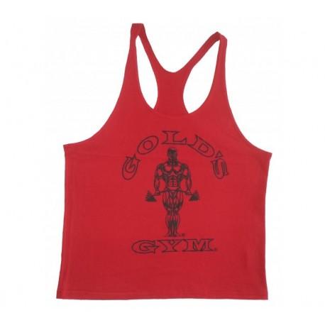 Camiseta God's Gym Tirantes Blanca Usa.