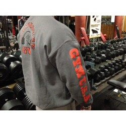 Powerhouse Gym sudadera gris.