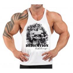 Camiseta Tirantes  Team Ironworks blanca