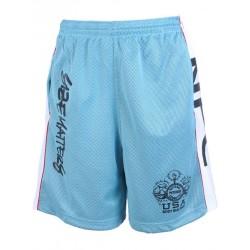 Pantalon Corto Npc Micro/Poliester Azul .