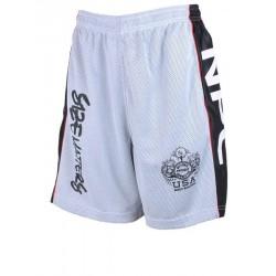 Pantalon Corto Npc Micro/Poliester Gris Carbon .