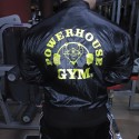 Chaqueta Powerhouse Gym Negra.