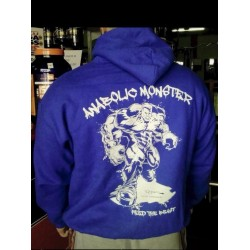 Sudadera Azul Anabolic Moster.