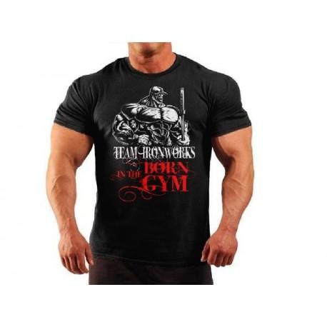 Camiseta Gigante de hierro Negra.
