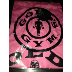 Camiseta Tirantes Gold's Gym Rosa.