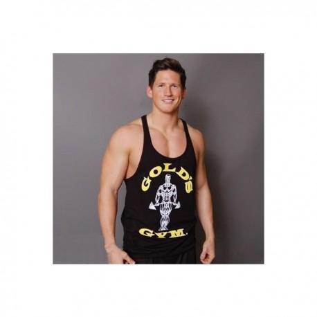 Camiseta God's Gym Tirantes Negra.