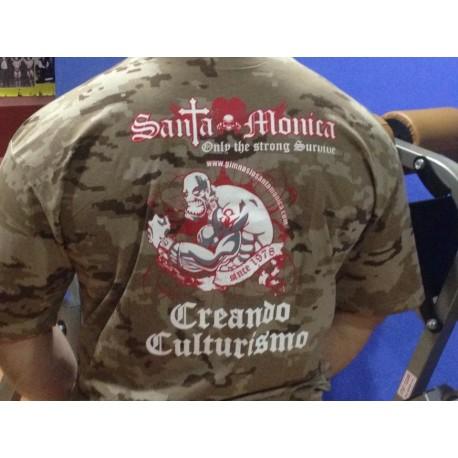 Camiseta corta  Militar Desierto