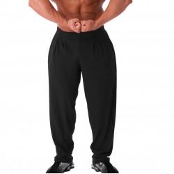 Pantalones  Anchos  Pitbull Gym  Gris Oscuro.