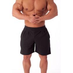 Pantalones   Cortos  Pitbull Gym Negros.