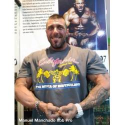 Camiseta The Mecca Of Bodybuilding California Venice Beach.