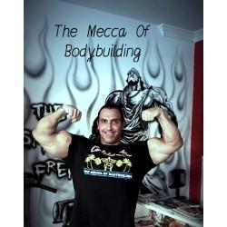 Camiseta The Mecca Of Bodybuilding California Venice Beach Charcoal.