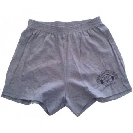 Pantalon Corto Powerhouse Gym Negro.