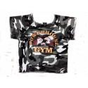 Camiseta Saco Culturista  Powerhouse  Gym Militar Camo