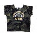 Camiseta Saco Culturista  Powerhouse  Gym Militar