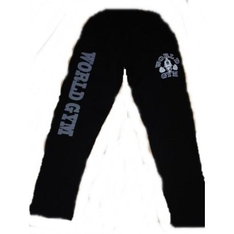 Pantalon Largo World Gym New York  Negro