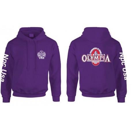 mejor sitio web a5a89 c584b Sudadera Npc capucha edicion limitada Olympia Morada. - SportGim