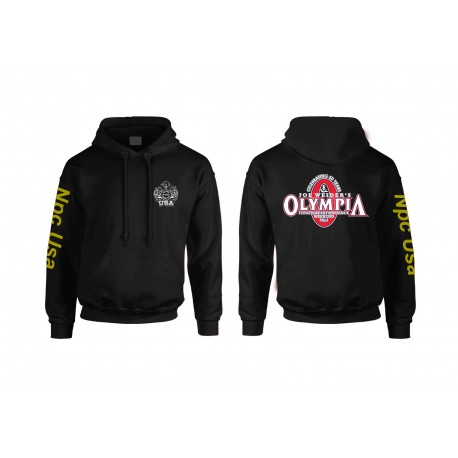 Sudadera Npc  capucha edicion limitada Olympia Morada.