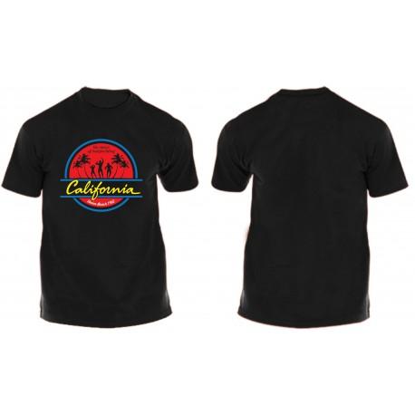 Camiseta The Mecca Of Bodybuilding California Limited Negra.