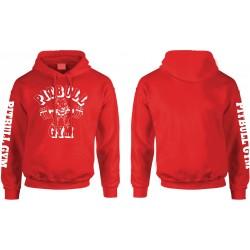 Camiseta Pitbull Gym Tirantes Roja.