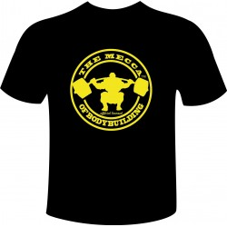 Camiseta Oficial The Mecca Of Bodybuilding.